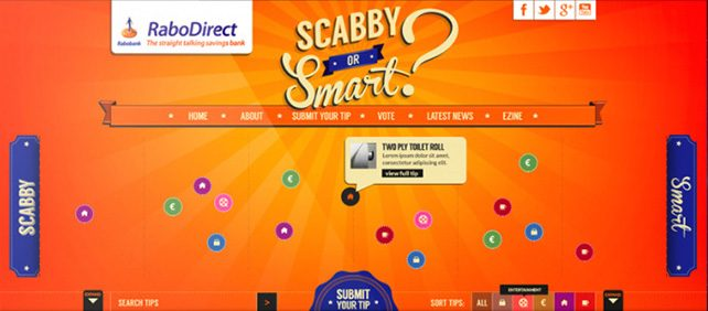 Scabby Or Smart, a site for the Irish branch, on the campagne CMS